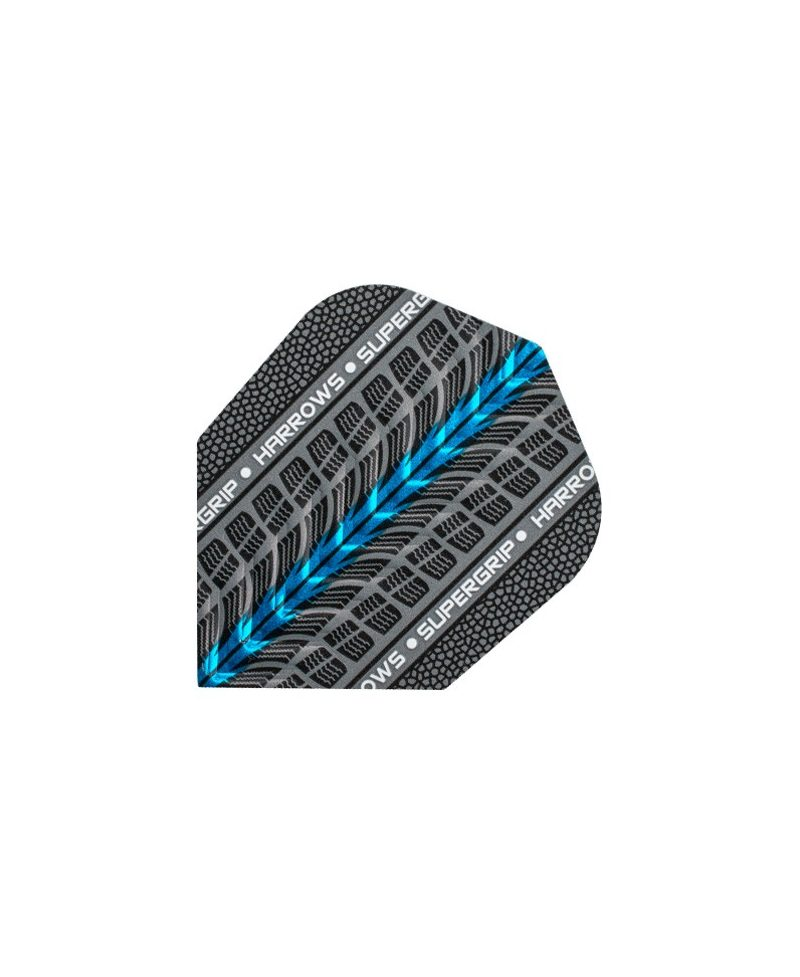 Aletas Harrows darts Supergrip 1701 azul