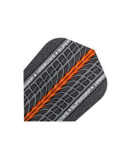 Aletas Harrows darts Supergrip 1702 naranja