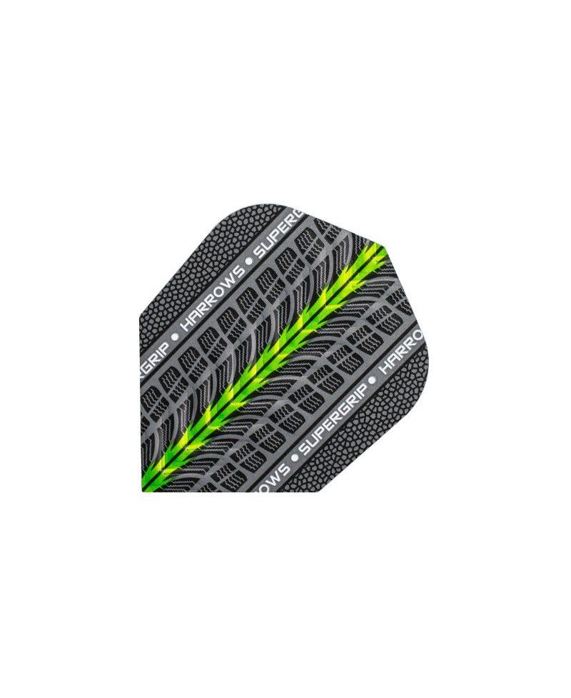 Aletas Harrows darts Supergrip 1703 verde