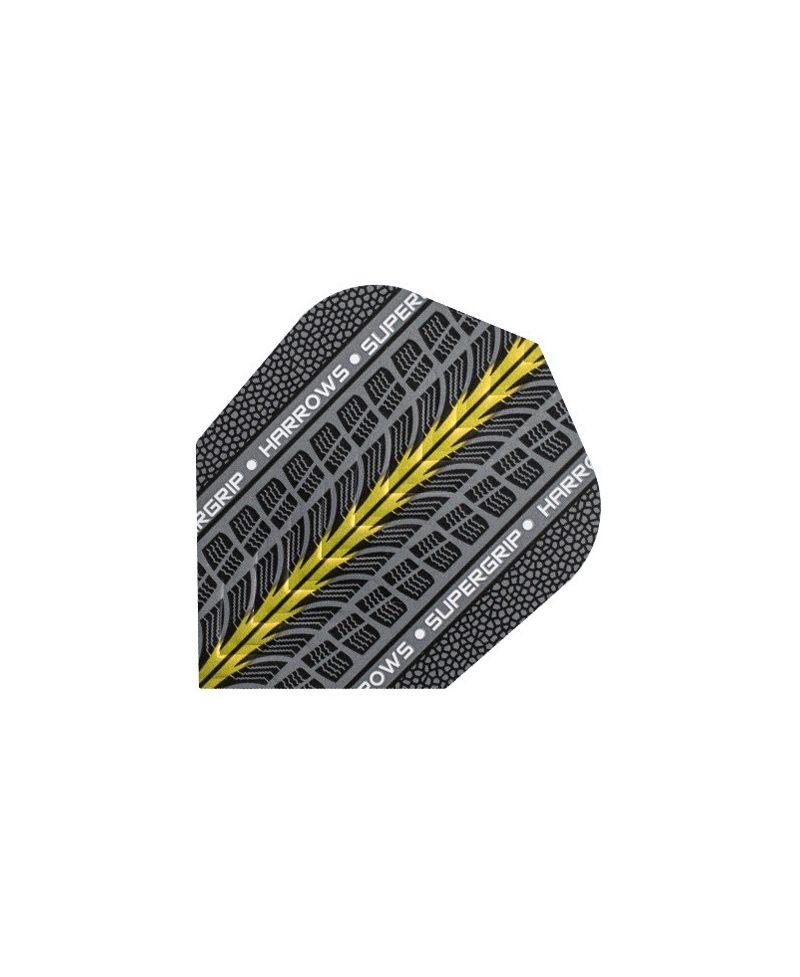 Aletas Harrows darts Supergrip 1705 amarilla