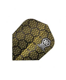 Aleta Harrows darts Atomic 3302 amarilla
