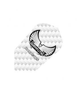 Aletas Harrows darts Graflite 7011 slim blanca