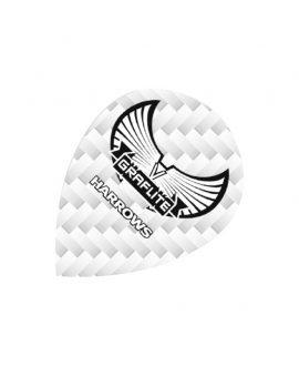 Aletas Harrows darts Graflite 7012 oval blanca